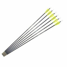 """New listing 12PCS 26"""" Fiberglass Arrows Spine 1200 for Outdoor Practice Target Archery Bow"""