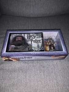 Harry Potter Postcards and figurine of Hagrid RARE Limited Edition
