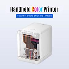 1200dpi Handheld Inkjet Printer Ink Date Word QR Code Color Barcode Logo Machine