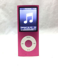 Apple iPod Nano 4th Gen Pink 8GB A1285 - Sm Dark Spot on Screen - AS IS TESTED