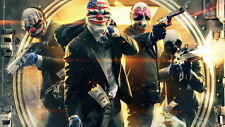 "039 Payday 2 - Cooperative First Person Shooter Video Game 25""x14"" Poster"
