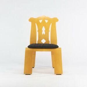 1984 Robert Venturi + Denise Scott Brown Chippendale Chair for Knoll in Birch