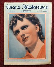 Cinema Illustrazione 1936 XI n° 45 Evi Maltagliati      23/12