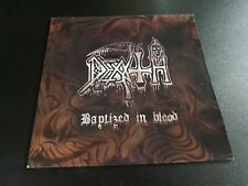 death - baptized in blood -  LP  -
