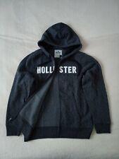 Nuevo con etiquetas hombre Hollister by Abercrombie & Fitch Polar Con Capucha Sudadera Chaqueta Talla L