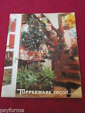 Livre de cuisine / TUPPERWARE reçoit ...2 / Rare