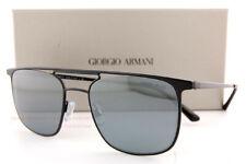 Brand New GIORGIO ARMANI Sunglasses AR 6076 30016G Black/Grey Mirror For Men
