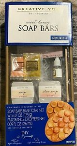SOAP BARS Creative You - Do It Yourself Kit - SWEET HONEY - NEW Unopened