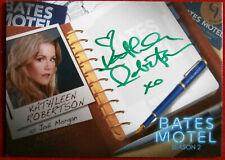 BATES MOTEL (Season 2) - KATHLEEN ROBERTSON Jodi - Autograph Card AKR1 VARIANT B