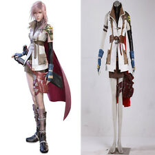 As Exclusive Final Fantasy 13-2-Lightning high-grade Cosplay Costume Handmade