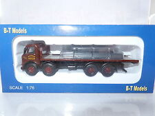 B T Models DA-89 DA89 1/76 AEC Mammoth Major Flatbed Rosser Pontlliw Steel Load
