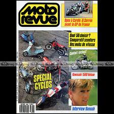 MOTO REVUE N°2808 KAWASAKI VN 1500 VULCAN, BOB HANNAH ★ SPECIAL CYCLOS 50 1987 ★