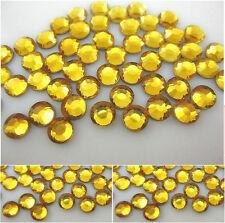 Christmas gold flat back diamante rhinestone gems - cards/scrapbooking/nail art