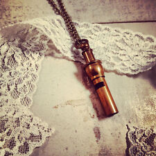 Nautical Whistle Necklace, Vintage Style, Pirate Pendant Charm, Antique Brass