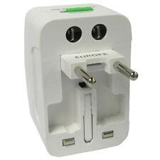 Universal AC Travel Adapter Power Plug Surge Protector AU US UK EU CN Outlets