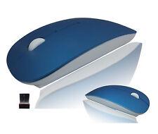 USB Funk Maus Mouse Wireless Optische PC Laptop Notebook kabellos Funkmaus Blau