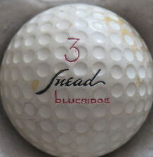 (1) SAN SNEAD SIGNATURE LOGO GOLF BALL ( BLUERIDGE CADWELL COVER CIR 1958) #3