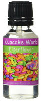 Cupcake World Elderflower Intense Food Flavouring Concentrates Vape 28.5 ml