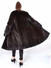A1 Nerzmantel Nerz Pelz Mantel Fur Mink Coat Норковая шуба pelliccia di visone L