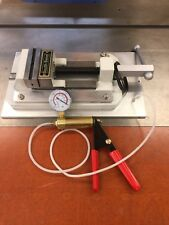 VACUUM PLATE SOUTH BEND VISE FOR WELDING ETC. WITH HAND PUMP EXTRA O-RING SEAL