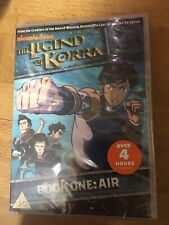 The Legend of Korra: Book One Air DVD (2013 Michael Dante DiMartino New 4 Hours