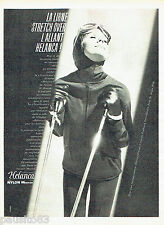 PUBLICITE ADVERTISING 096  1961  les vetements de ski anorak fuseau Helanca