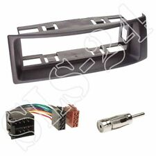 Renault Megane Scenic Radioblende Blende schwarz + ISO KFZ Adapter + Antenne Set