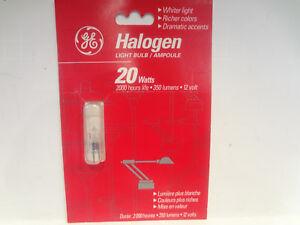 GE Lighting 20 Watt Halogen light blub