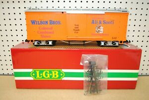 LGB 4067-DG Wilson Bros. Circus Tent and Supply Box Car *G-Scale* NEW