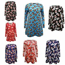 NEW WOMENS CHRISTMAS MOTHER & DAUGHTER FESTIVE LADIES FLARED SWING DRESS 2YRS-26