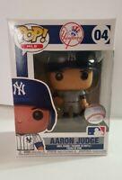 Funko Pop MLB New York Yankees Aaron Judge #04 Vinyl Figure