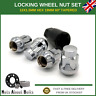 Alloy Wheel Locking Set 4 + Key For Ford B-Max With After-market Alloys