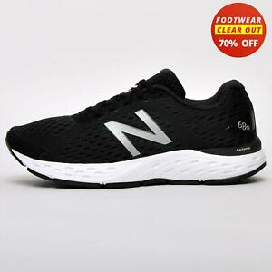 New Balance 680 v6 Mens Running Shoes Fitness Gym Workout Trainers Black
