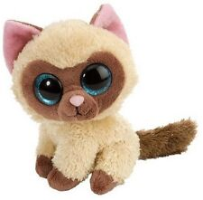 5 Inch Sweet & Sassy Mocha Siamese Cat Plush Stuffed Animal by Wild Republic