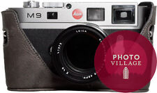 Black Label Bag Leica M8 M8.2 M9 M9-P M9-M Half-case in Gray