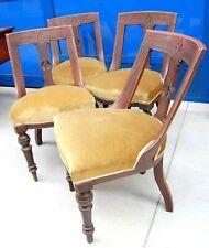 4 sedie gondoline '800 Napoleone III