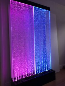 """STANDING BUBBLE FOUNTAIN 72"""" Tall x40"""" Wide , Color Lights , Remote Ctrl"""