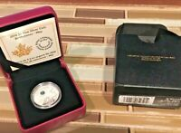 Canada - 2016 'May - Birthstones' Crystalized Proof $5 Silver Coin w COA/BOX
