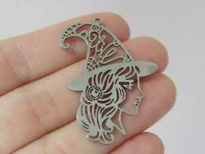 1 Witch pendant stainless steel HC685