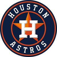 "Houston Astros MLB Vinyl Decal - You Choose Size 2""-28"""