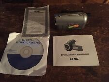 """Global DV-136ZB 1.5"""" 3.1 MP Digital Video Camera with 4X Zoom & Accessories"""
