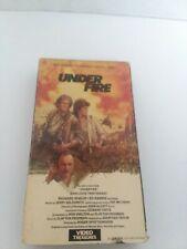 Under Fire vhs,1984 Nick Nolte,Gene Hackman,Joanna Cassidy.