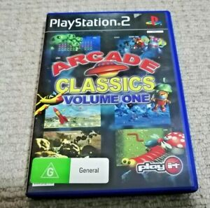 Arcade Classics Volume One PS2 Playstation 2 Game Complete