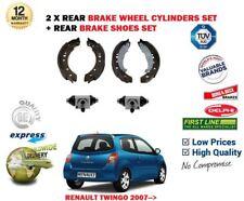 pour Renault Twingo 1.2 1.5 DCI 2007-2014 2 X CYLINDRES DE ROUE frein arrière +