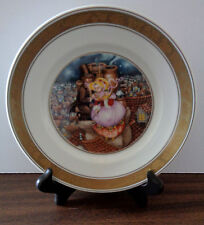 1975 Royal Copenhagen Hans Christian Andersen Plate - Shepherdess Chimney Sweep