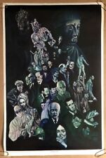 Cacophony Age Original Vintage Blacklight Poster Psychedelic 1960's Wespac Pinup