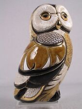 De Rosa Rinconada Medium Wildlife Collection 'Spotted Owl'  - NEW #1013 - NIB