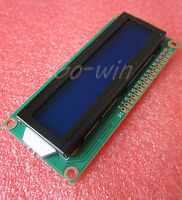10PCS 1602 16x2 Character LCD Display Module HD44780 Controller Blue Blacklight