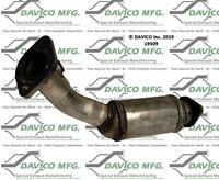 Catalytic Converter-Exact-Fit Left Davico Exc CA 19515