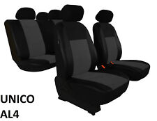 FORD TRANSIT CONNECT 2014 ONWARDS ECO LEATHER & ALICANTE TAILORED SEAT COVERS